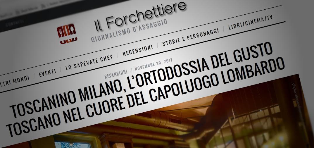 Recensione de Il Forchettiere su Toscanino Milano