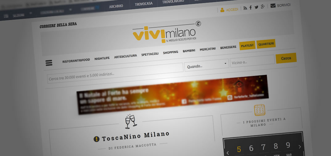 ViviMilano sceglie Toscanino